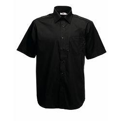 Košulja FOL KR 120g Poplin Shirt crna S P12 NETTO 50%