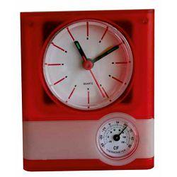 Sat stolni Weather sa termometrom crveni ET2085 P100 NETTO