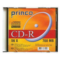 CD-R 80/700 MB PRINCO 56x slim box 1/1 80FP P1/10