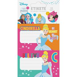 Naljepnice za bilježnice DISNEY GIRLS 10 kom bls P24/240/960