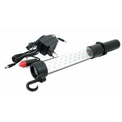 Baterijska lampa 9 LED dioda Master za kampiranje crna KR P1