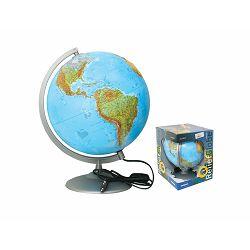 Globus 30cm Alto Frost reljefni (svjetlo) u poklon kutiji (kartog.-geop.) P6