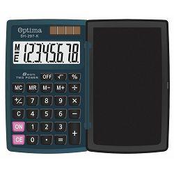 Kalkulator OPTIMA SH-297 8 mjesta 25253 bls P100/200