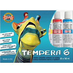 Tempera  1/6 16ml karton Žirafa KOH-I-NOOR 1625S P10