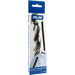 Ugljen za crtanje prirodni MILAN 6-8mm 5/1 7802 P22
