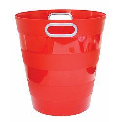 Koš za smeće pvc ARK 1051 crveni P40