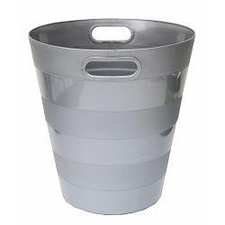 Koš za smeće pvc ARK 1051 srebrni P40