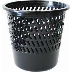 Koš za smeće pvc ARK 1238 mrežasti crni P60