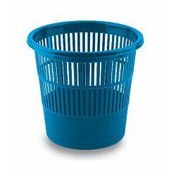 Koš za smeće pvc ARK 1238 mrežasti plavi P60