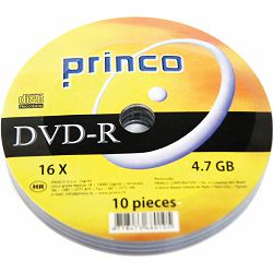 DVD-R 4,7 GB 16x PRINCO spindle 10/1