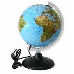 Globus 20cm Elite (svjetlo), kartog.-geopolitički P12