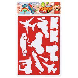 Šablona za crtanje187x266mm PROMET 9820 KOH-I-NOOR P24