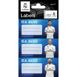 Naljepnice za bilježnice REAL MADRID 9 kom. 62575 bls P100/1000