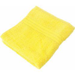 Ručnik Softy 100x50cm sa bordurom žuti 450gsm P1/36