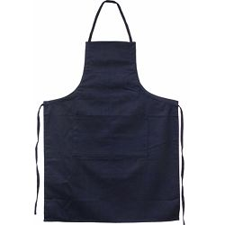 Pregača kuhinjska Master Flex sa džepom, pamučna S/M t.plava  P1/100