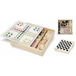 Igraći set 5U1 u drvenoj ambalaži 68105 P1/24/48
