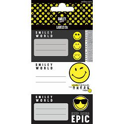 Naljepnice za bilježnice Smiley 9 kom. 62242 bls P100/1000