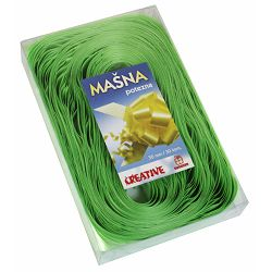 Mašna potezna 48mm reljefna sv. zelena u pvc kutiji P20/480 NETTO