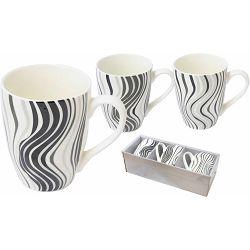Set keramičkih šalica Waves 300 ml 3/1 85350 P12