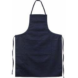 Pregača kuhinjska Master Flex sa džepom, pamučna L/XL t.plava  P1/100