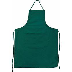 Pregača kuhinjska Master Flex sa džepom, pamučna  L/XL zelena P1/100