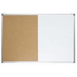 Ploča bijela magnetna/pluto zidna OPTIMA 30x45cm alu okvir 22383 P1/20