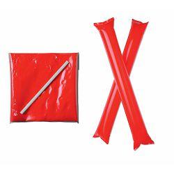 Navijački rekvizit - palice na napuhavanje 60x10,5 cm crvene P500