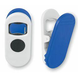 Otvarač Clippy plavi sa magnetom, 8x4x3,5 cm P400 NETTO
