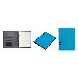 Organizer notes Alfa met. mehanizam, plavi 23,5x18,5x2 cm