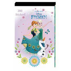 Naljepnice Disney Frozen 200 kom bls P12/60/240 NETTO