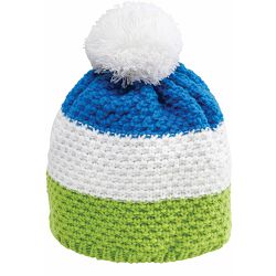 Kapa NORDIC pletena zeleno/plavo/bijela 86298 P1