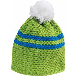 Kapa FLAKE pletena zeleno/plavo/bijela 83487 P1