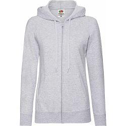 Jakna FOL Lady-fit LW Hooded sweat jacket siva L NETTO