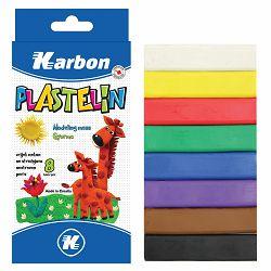 Plastelin KARBON 8 boja P80