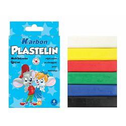 Plastelin HLAPIĆ  6 boja P54