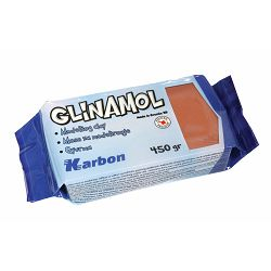 Glinamol terakota KARBON 450 g P32