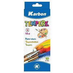 Tempera 1/10 7,5ml KARBON alu tuba kartonska kutija P56