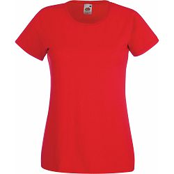 Majica FOL T-shirt KR Lady-fit Valeuw. new 165g crvena 2XL P72