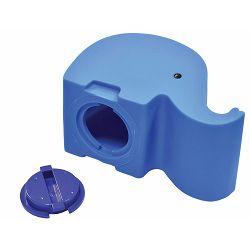 Kasica gumena Dumbo u obliku slona plava P50/100
