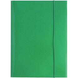Fascikl kartonski/lak s gumicom A4 400gr OPTIMA zeleni 60583 P50