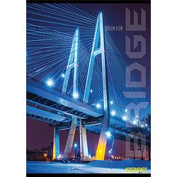 Bilježnica A6/D Street BRIDGES 40l 65767 P10/60