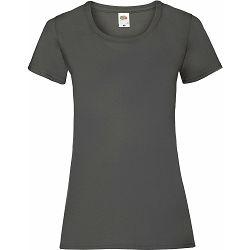 Majica FOL T-shirt KR Lady-fit Valeuw. new 165g grafitno siva 2XL P72