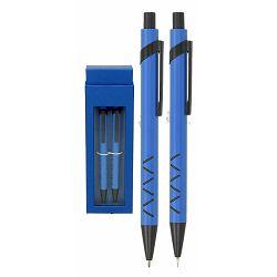 Set pisaći WOW kemijska olovka i tehn.ol. svj.plavi P1/100