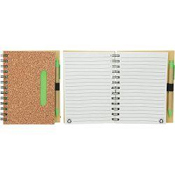 Notes Corc B6 spiralni s kem. ol. 17,7 x 14 x 1,5 cm P50/100
