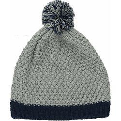 Kapa pletena Hansel plavo/siva