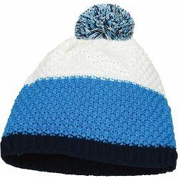 Kapa pletena Glacier plavo/bijela