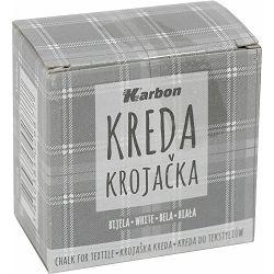Kreda krojačka bijela KARBON kutija 5 kom P1/10/160-nova