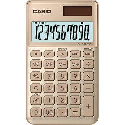 Kalkulator CASIO SL-1000SC-GD zlatni bls P10/100