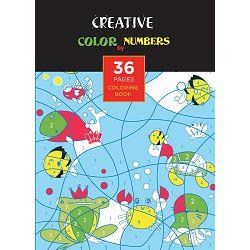 Bojanka za djecu Creative COLOR BY NUMBERS 36 str, 21x30 cm 75081 P24