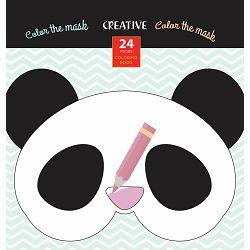 Bojanka za djecu Creative COLOR THE MASK 24 str, 21x21 cm 75084 P24